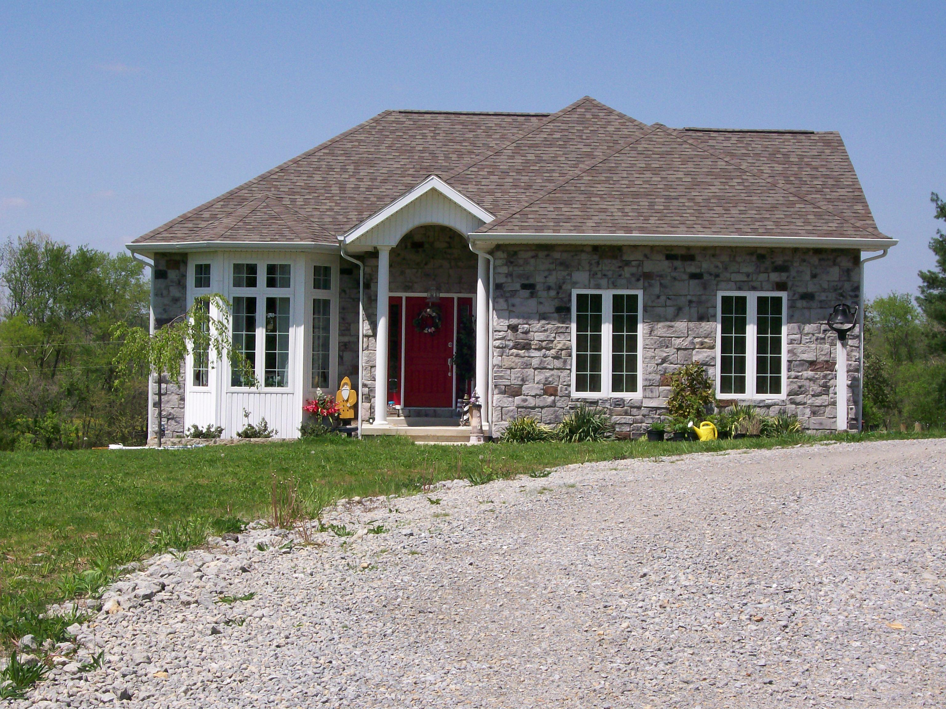 Homes Exterior Appleridge Stone